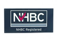 NHBC registered builder site board