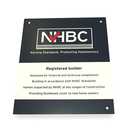 Registered builder plaque_Product