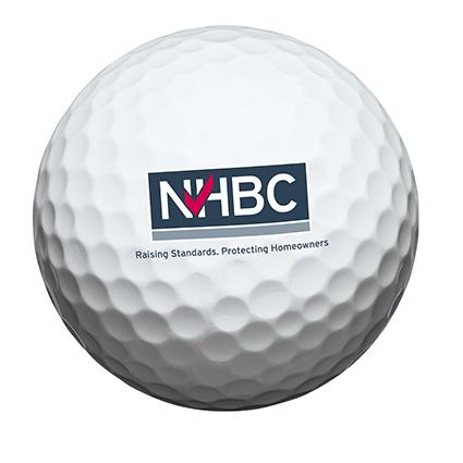 NHBC Golf ball